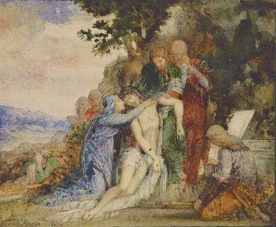Gustave Moreau, 'La Mise au Tombeau (The Entombment)', 1867