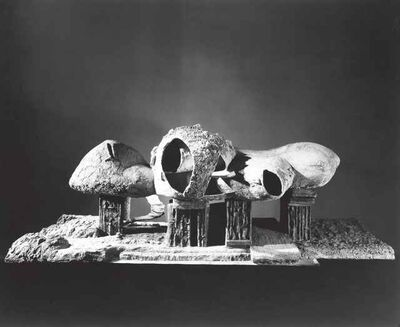 Frederick John Kiesler, 'Endless House (Project, Exterior View of the Model)', 1950-1960