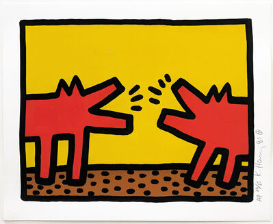 Keith Haring, 'POP SHOP IV (2)', 1989