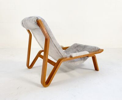 Harvey Probber, 'Suspension Chair Restored in Brazilian Cowhide', 1949