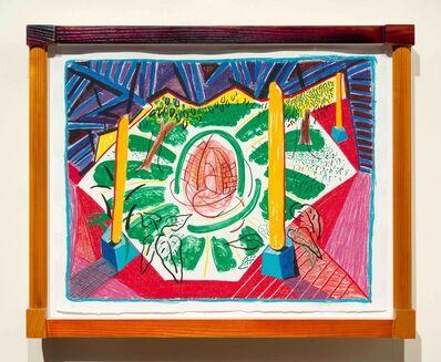 David Hockney, 'Views of Hotel Well II', 1985