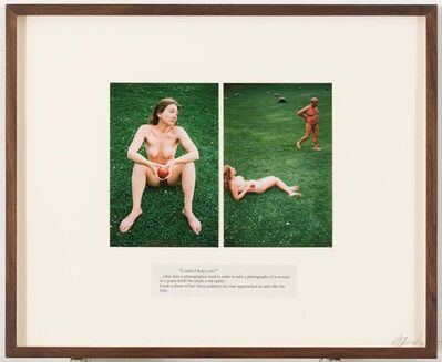 """Boris Mikhailov, 'Untitled (from the series """"Look at me I look at water"""")', 2002"""