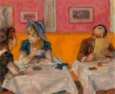 Robert Philipp, 'At the Restaurant'
