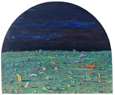 Andrew Abbott, 'Moonlight Cat life', 2019