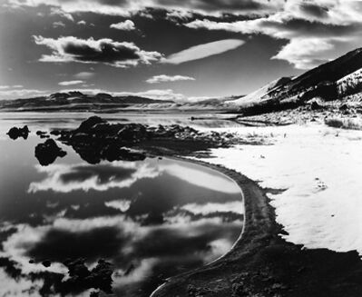 Brett Weston, 'Mono Lake', 1955