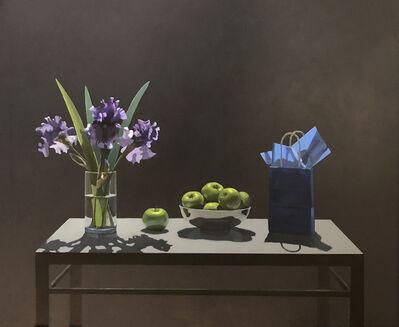 Neil Christensen, 'Gift Bag Series: Irises', 2018