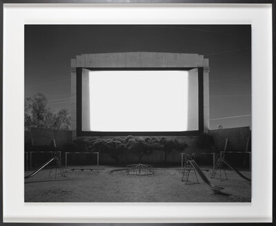 Hiroshi Sugimoto, 'Tri City Drive-In, San Bernardino', 1993
