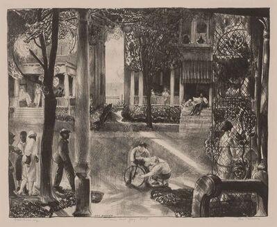 George Wesley Bellows, 'SIXTEEN EAST GAY STREET (M. 183)', 1924