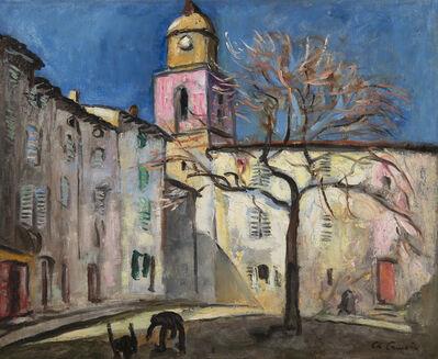 Charles Camoin, 'Place de l'Ormeau, Saint-Tropez', 1921