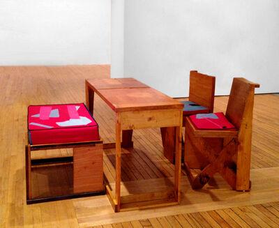 Chris Johanson, 'Untitled (Furniture Set)', 2013