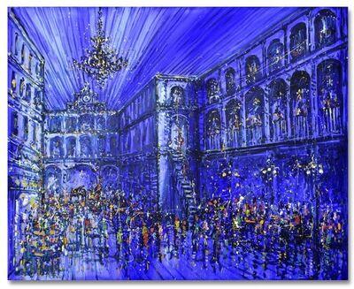 Jazzamoart, 'Bar Azul '