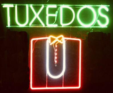 Neon Museum of Philadelphia, 'Tuxedos ', 1970's