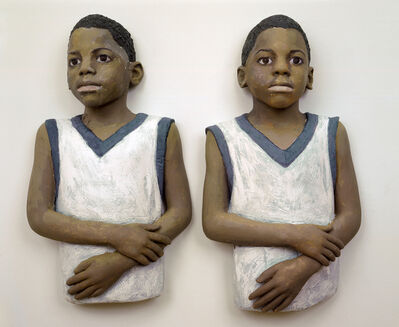 John Ahearn, 'The Twins', 2004