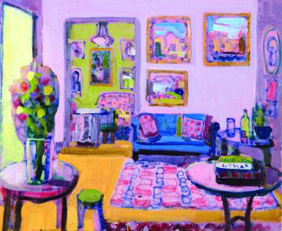 John Bokor, 'The gilded frames', 2018