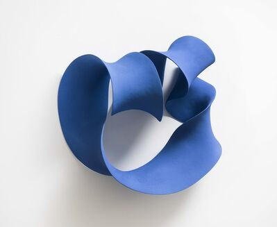 Merete Rasmussen, 'Blue Folded Form', 2019
