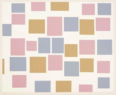 Piet Mondrian, 'Composition No 3 – Flat Areas of Colour. 1917.', 1957