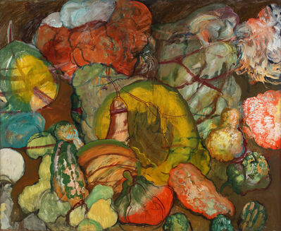 Hyman Bloom, 'Gourds', ca. 1990