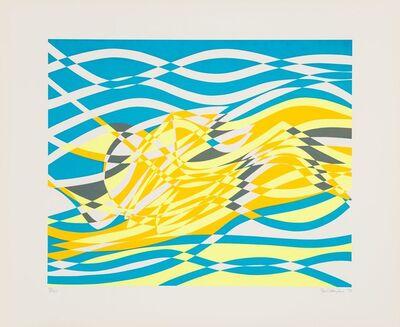 Stanley William Hayter, 'Untitled 4, from the Aquarius Suite', 1970