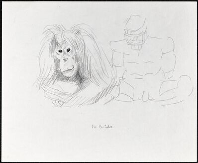 Maria Lassnig, 'Die Brüder', 1983