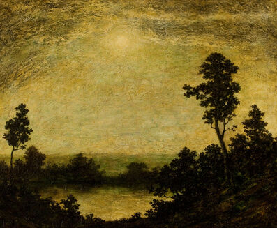 Ralph Albert Blakelock, 'Into the Night'