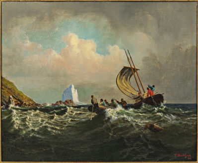 William Bradford, 'Rescue from the Rocks'