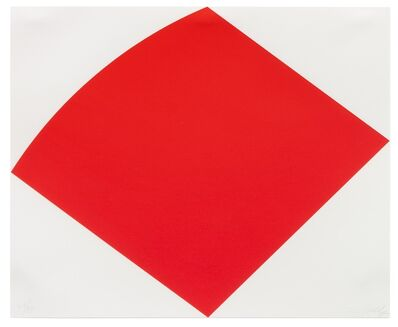 Ellsworth Kelly, 'Untitled (Red Curve), 1996-1997'