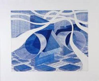 Al Held, 'MN Blue', 2003