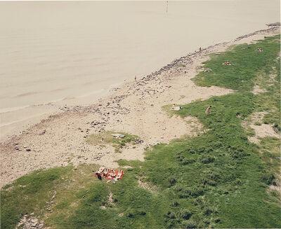 Andreas Gursky, 'Dusseldorf, Rhein', 1985