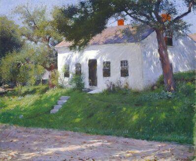 Dennis Miller Bunker, 'Roadside Cottage', 1889