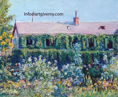 Blanche Hoschedé-Monet, 'House and Garden of Claude Monet, Giverny', 1911-1913