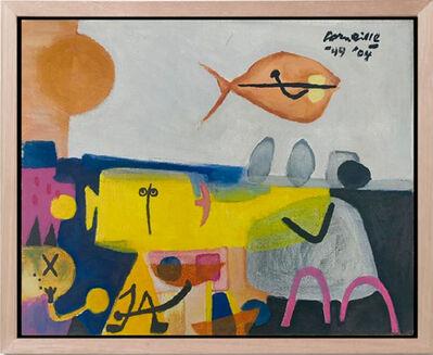 Guillaume Corneille, 'Fish Scene', 2004