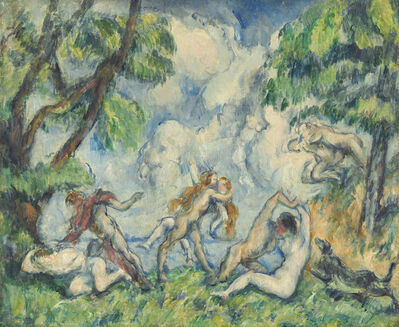 Paul Cézanne, 'The Battle of Love', 1880