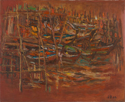 Lim Tze Peng, 'Kelong Houses', 2003