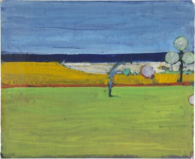 Richard Diebenkorn, 'Untitled (Invented Landscape)', 1966