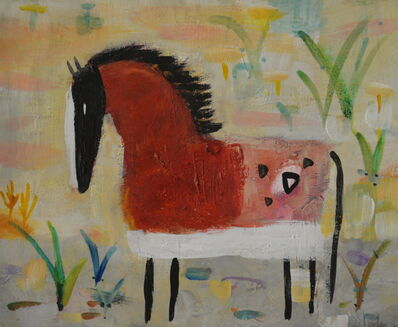 Valentina DuBasky, 'Red Spotted Horse', 2015