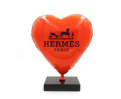Jaler Fine Art, 'BALLOON HEART HERMES', 2020