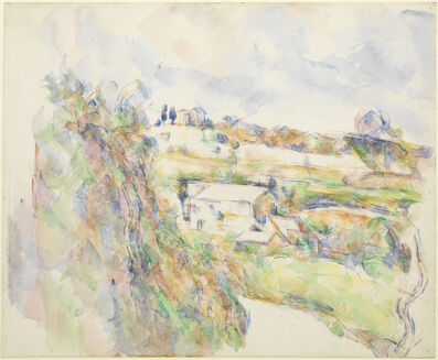 Paul Cézanne, 'Chemin des Lauves: The Turn in the Road', 1904-1906