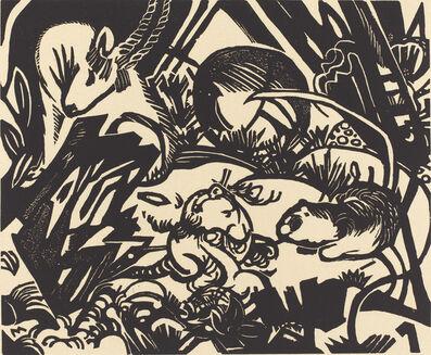 Franz Marc, 'Animal Legend (Tierlegende)', 1912