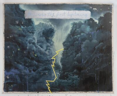 Jorge Rios, 'This was the first lightning', 2021