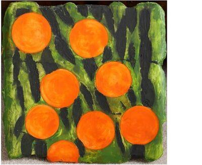 Donald Sultan, 'Eight Oranges', 1992