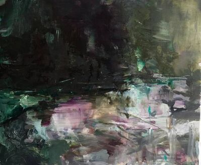 Edwige Fouvry, 'Lac mauve et rose', 2017