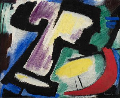 Gérard Schneider, 'Opus 492', 1952