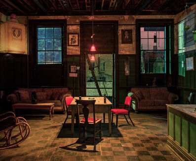 Andrew Moore, 'Back Room, Harmony Club, Selma, AL', 2017