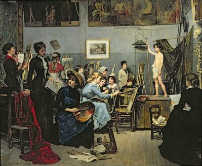 Marie Bashkirtseff, 'In the Studio', 1881