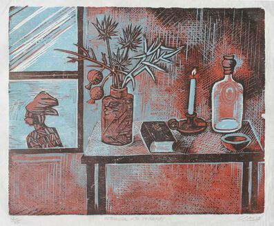 Peter Clarke, 'Interior with Passerby'