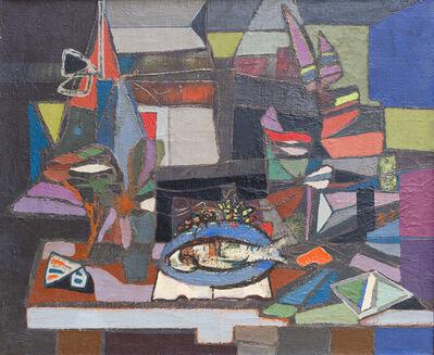 Jankel Adler, 'Composition with Fish ', ca. 1940