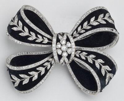 Koch Frères, 'Bowknot brooch', 1905-1910
