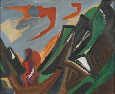 Ernst Wilhelm Nay, 'Frau im Sund (Woman in the Sound)', 1937