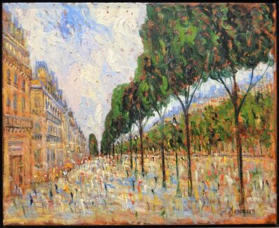 Samir Sammoun, 'Promenade A Paris', 2018