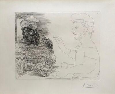 Pablo Picasso, 'Deux Buveurs Catalans'